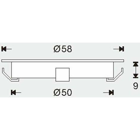 """main image of """"Mini spot LED encastrable rond ultra-plat"""""""