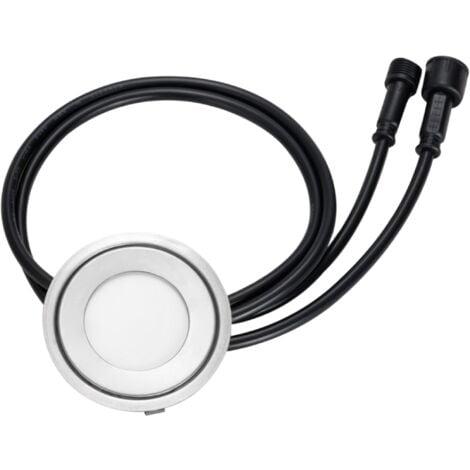 Mini spot LED encastrable rond ultra-plat - RGB Multicolore