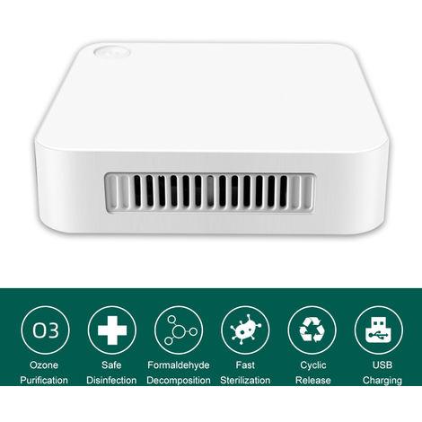 Mini Sterilizer Deodorizer Household Air Purifier Refrigerator Sterilizer USB Rechargeable