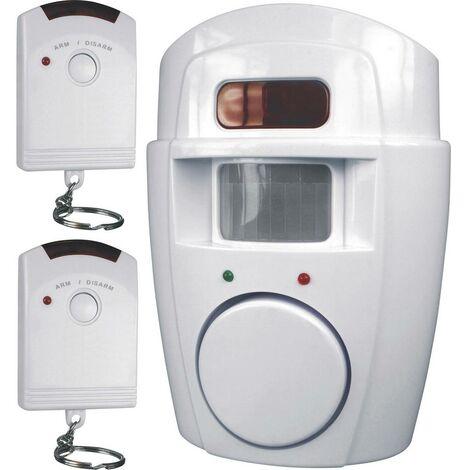 Mini-système dalarme avec 2x télécommande Smartwares SC09 SW 105 dB