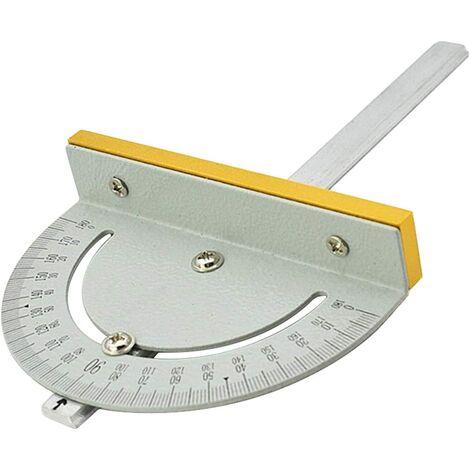 Mini-table Circulaire Universelle Scie à Angle Règle Durable DIY Machines à Bois T-Style Angle Règle Précision Angle Mesure Finder Règle Outil Pour Les Menuisiers