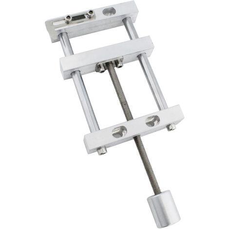 Mini taladro de 3,5 pulgadas, tornillo de banco de metal, tornillo de banco, abrazadera plana, abrazadera en C para tallar madera de nogal, grabado en Metal, carpinteria