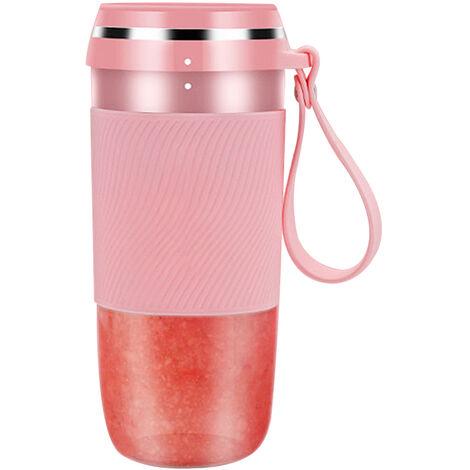 Mini Tasse Personnelle De Presse-Agrumes, Rechargeable Par Usb, Rose