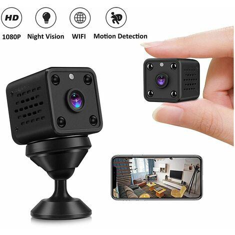 Mini telecamera nascosta 1080P HD WiFi camera con visione ...
