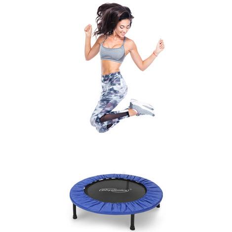 Mini-Trampolin für drinnen und draußen mit rutschhemmenden Füßen Größenwahl