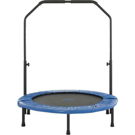 Mini Trampoline de Fitness Sport Gym Intérieur Rebondisseur | Pliable ou Poignée