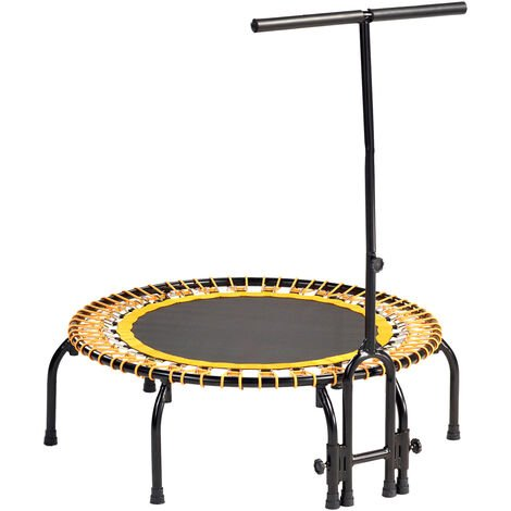 Mini trampoline FITNESS FitBodi 100 qualité pro certifié par le CRITT - Orange