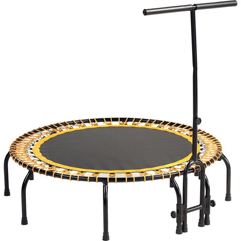 Mini trampoline FITNESS FitBodi 120 qualité pro certifié par le CRITT - Orange