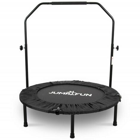 Mini Trampoline Fitness Jump4fun Double-Bar Pliable Ø92cm - Choix couleurs