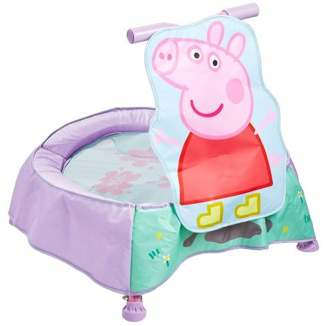 Mini Trampoline Sonor Peppa Pig première âge Worlds Apart