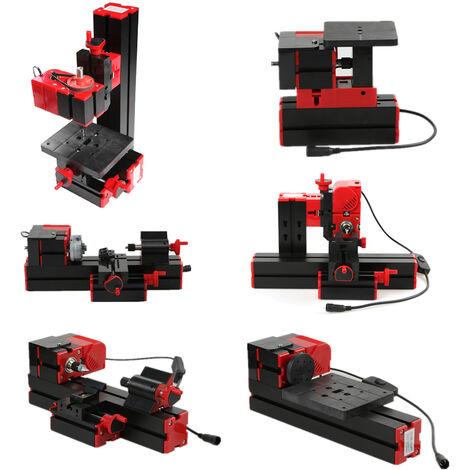Mini transformador motorizado multifuncional 6 en 1 de bricolaje, amoladora de rompecabezas de maquina multiproposito