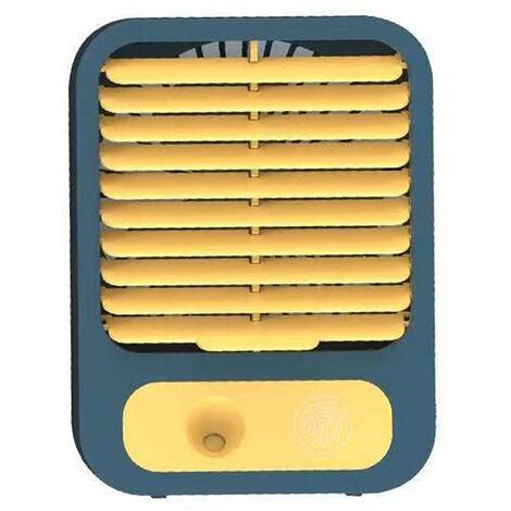 Mini USB recargable para escritorio, ventilador, oficina de verano, hogar, ventilador pequeno, tres velocidades, ajustable