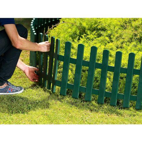 Mini valla verde Clickfence 40x40 cm