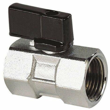 Mini vanne 15x21 1/2' mf