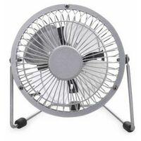 Mini ventilador sobremesa usb 3W gris GSC 5000729