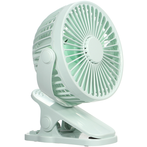 Mini Ventilateur D'Arome De Charge Usb, Vert