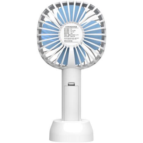 Mini ventilateur de poche portable Petit ventilateur de bureau USB, vitesse du vent rechargeable ¨¤ trois vitesses exp¨¦di¨¦ sans batterie