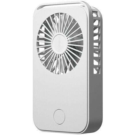 Mini ventilateur de poche, ventilateur de bureau portable de dessin anime de charge usb, rose