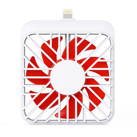Mini ventilateur de téléphone portable Portable Tablet USB Fanner pour l'été pour APPLE
