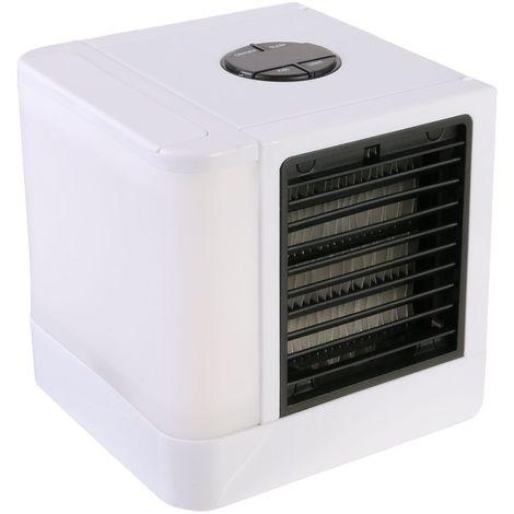 Mini ventilateur mobile - USB - Blanc