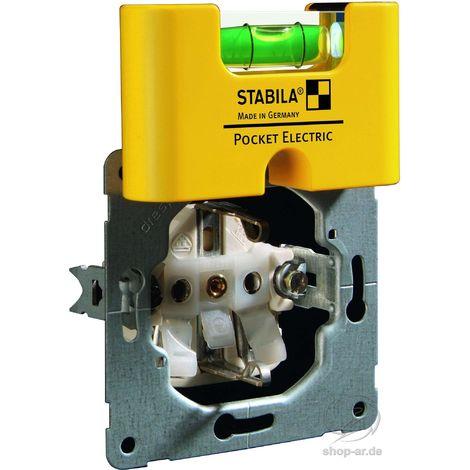Mini-Wasserwaage Pocket Electric 7cm Stabila
