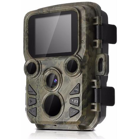 Mini300 Night Vision Chasse Trail Camera 16MP HD1080P IR Wildlife Scouting XV4