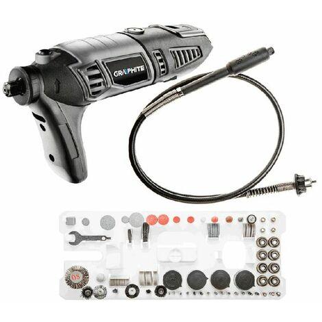 Miniamoladora, 170W, velocidad 8000-35000min-1 Graphite 59G019