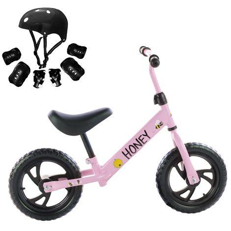 """main image of """"Minibike Honey sin pedales Bicicleta de iniciación Incluye protecciones"""""""