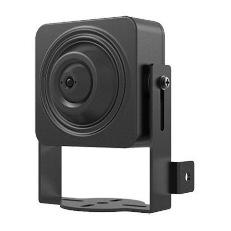 Minicámara IP apta para interior. Óptica fija de 3.6 mm Pinhole