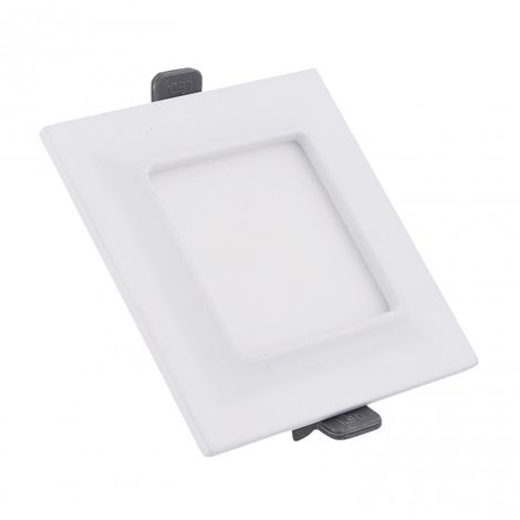 Minidownlight LED cuadrado Moldura 5W blanco 4000k