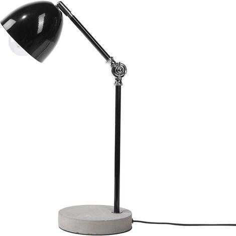 Minimalist Scandinavian Desk Table Lamp Swing Adjustable Arm Concrete Base Chanza