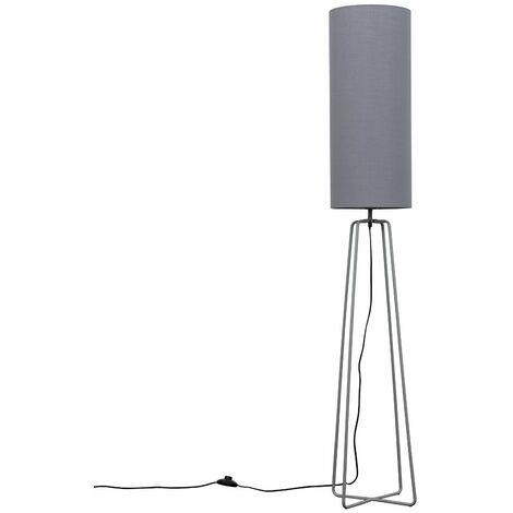 MiniSun 150cm Floor Lamp Light Trapezoid Wire Frame Base Lampshades Led