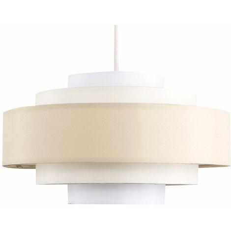 "main image of ""MiniSun - 5 Tier Ceiling Pendant Light Shade - Grey"""