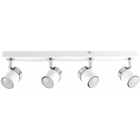 "main image of ""4 Way Straight Bar Ceiling Spotlight"""