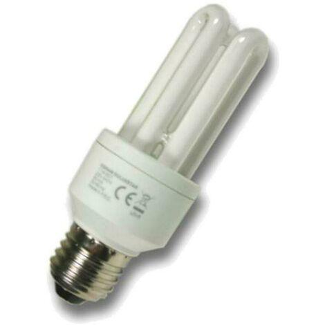 MiniSun CFL Tubular 11W E27 PLET Warm White Frosted