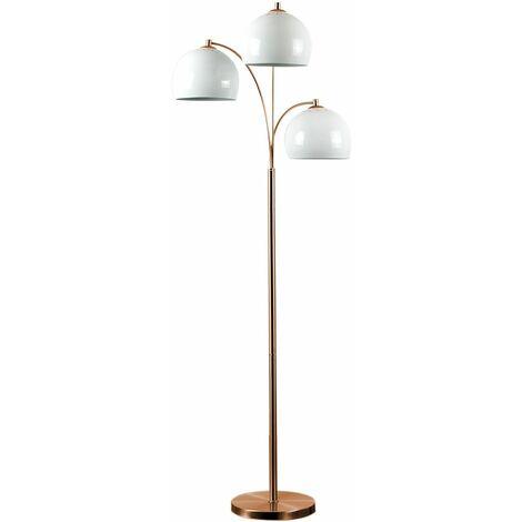 MiniSun Dantzig 3 Way Copper Floor Lamp