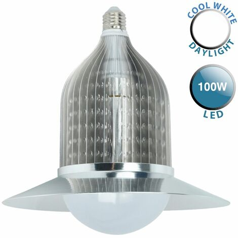 MiniSun E-Cone 100W SMD LED Warehouse Bulb 6000K 1YR Warrant