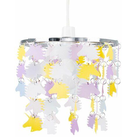 Minisun Easy Fit Light Shade Childrens Unicorn Ceiling Pendant Bedroom Lighting