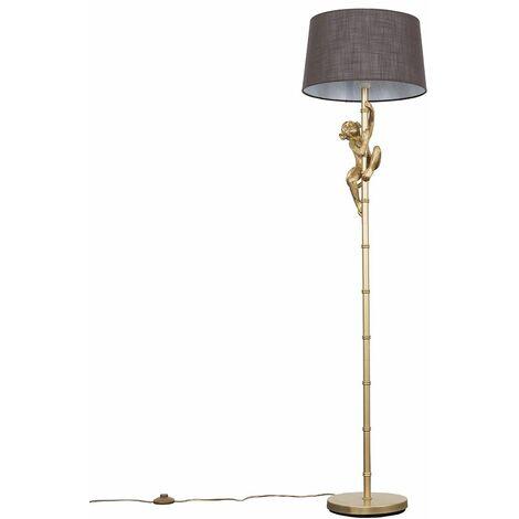 MiniSun Gold Monkey Floor Lamp LED Light Bulb