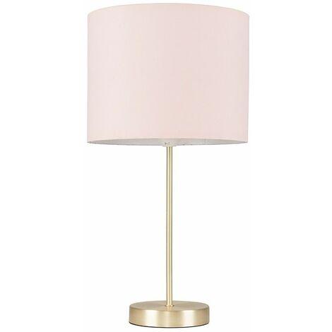 "main image of ""Gold Table Lamp Light Fabric Shades"""
