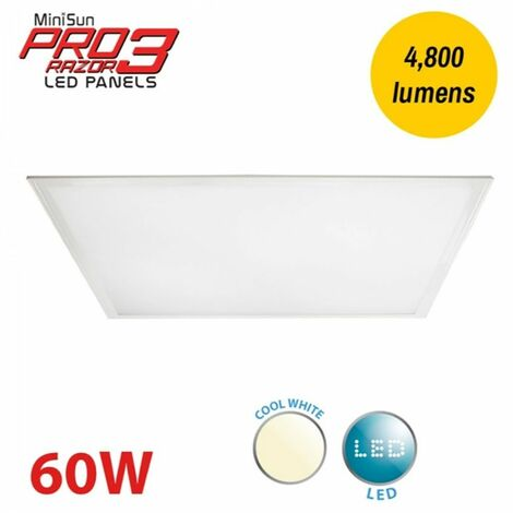 MiniSun LED Pro3 Razor LED Panel - 600mm x 1200mm 4000K