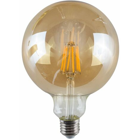 Minisun Vintage LED Bulbs Giant Globe Lightbulb Lamp Amber A+