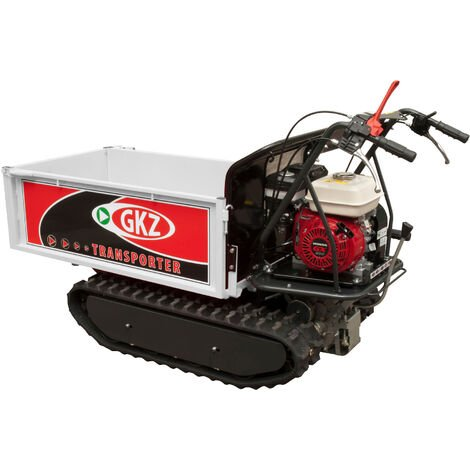 "main image of ""Minitransporter Cingolato portata/carico 500kg - Motore HONDA GX200 5.5HP"""