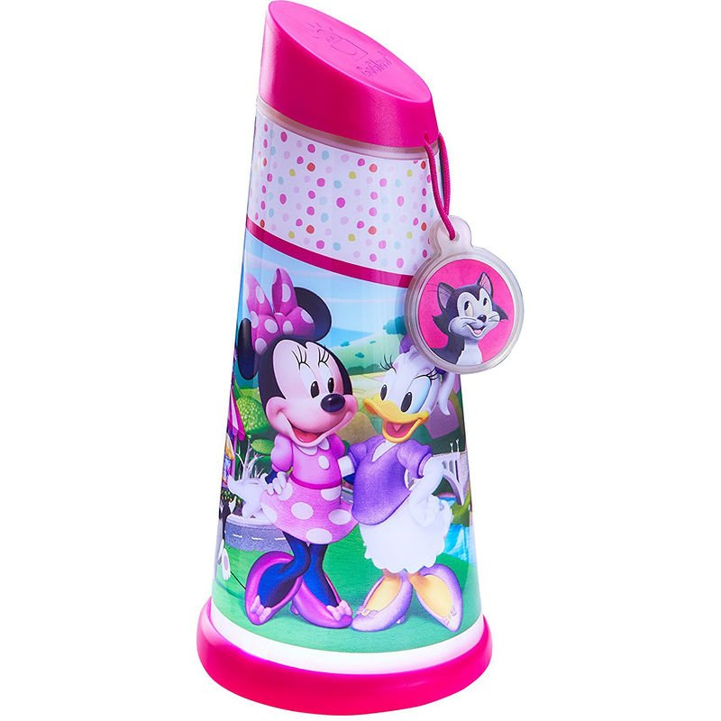 Veilleuse lampe torche nomade rose Minnie Mouse Disney