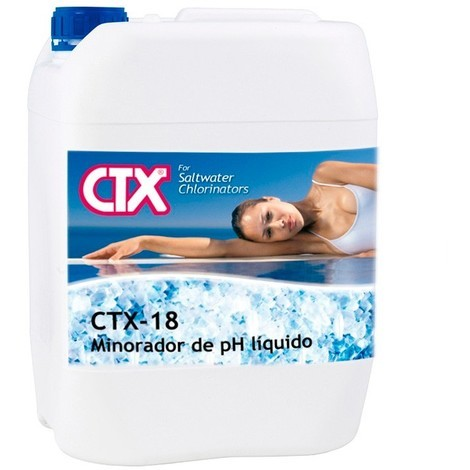 Minorador pH líquido cloración salina CTX-18 25L - Cod: 40970