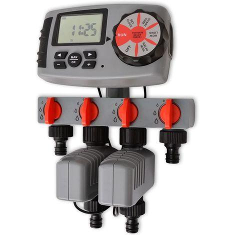Minuterie automatique d'irrigation avec 4 stations 3 V