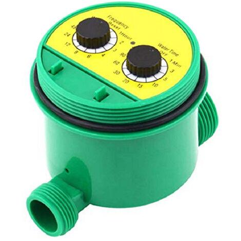Minuterie d'arrosage automatique du jardin Minuterie d'irrigation de jardin Minuterie intelligente Minuterie d'arrosage Systeme d'irrigation Batterie non incluse