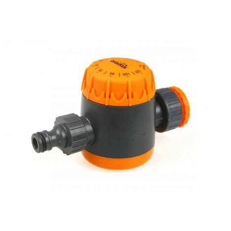 Minuterie de débit d'eau pour tuyau d'arro