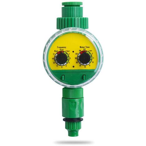 Minuterie D'Eau D'Irrigation, Minuterie D'Arrosage Automatique Programmable Electronique De Jardin
