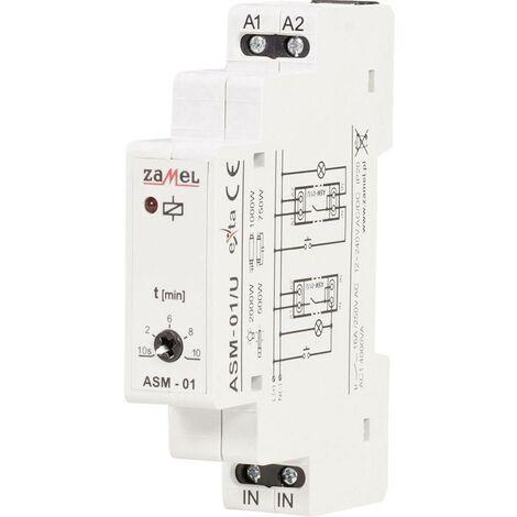 Minuterie d'escalier profilé 12 V, 24 V, 230 V Zamel ASM-01/U W850171